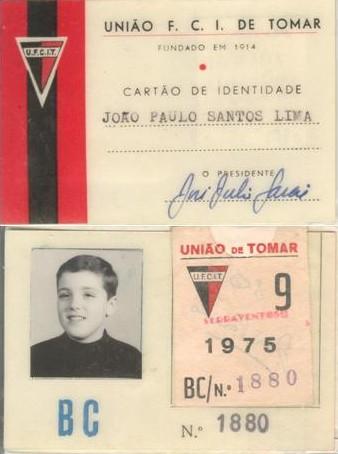 Cartão Sócio - 1970