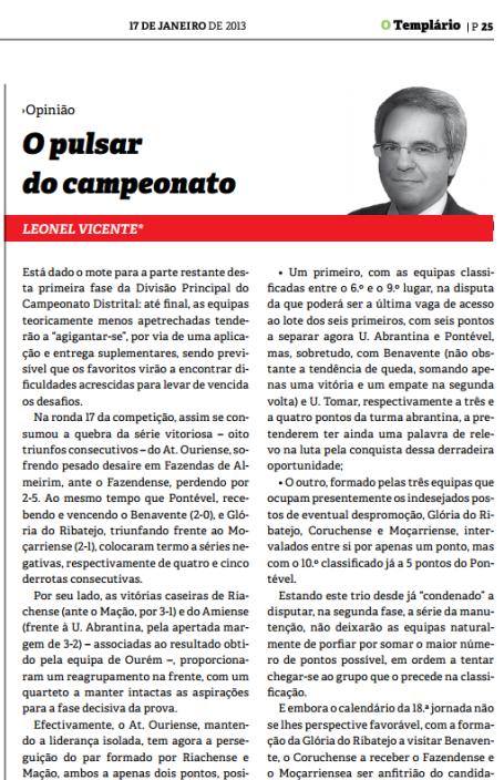 Templario - 17-01-2013