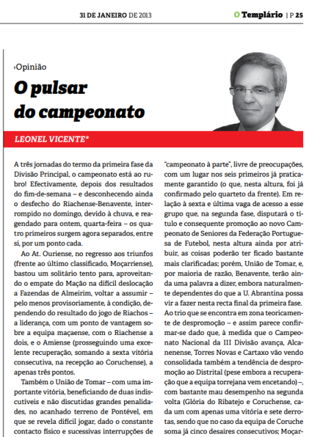 Templario - 31-01-2013