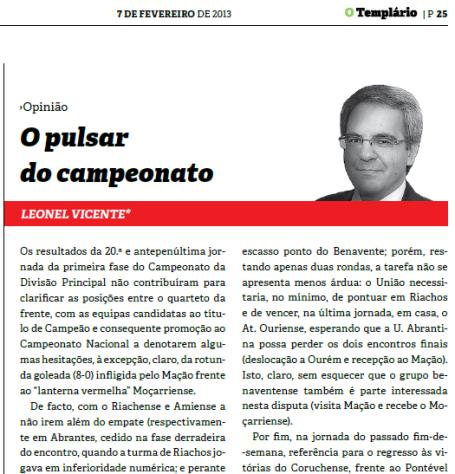 Templario - 07-02-2013