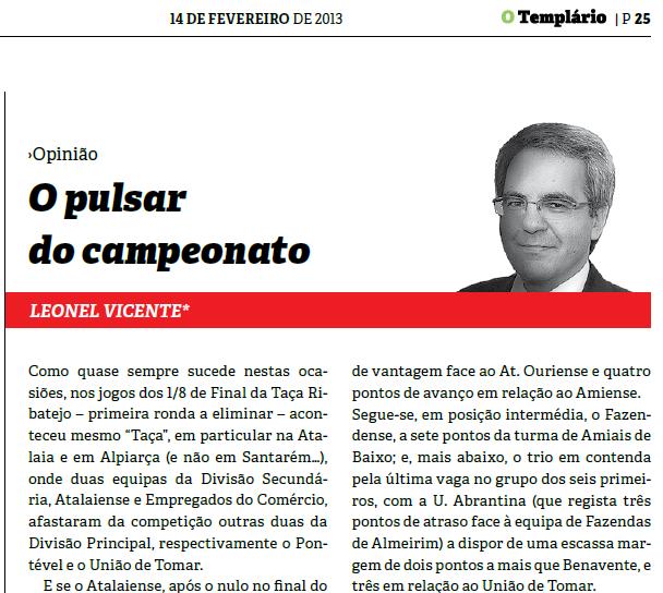 Templario - 14-02-2013