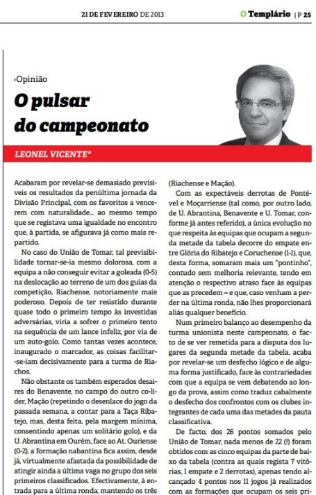 Templario - 21-02-2013