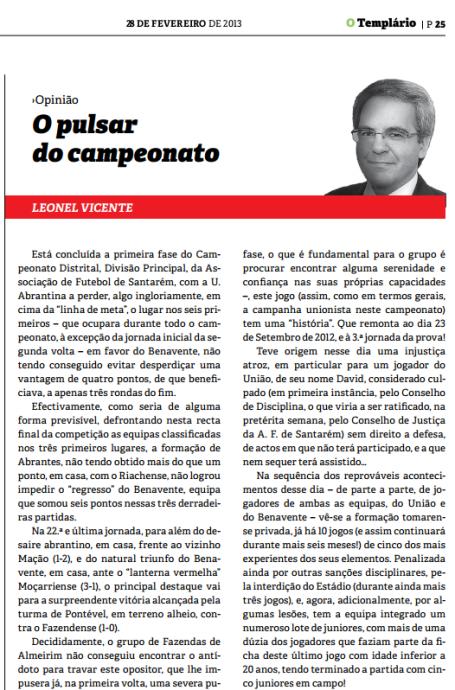 Templario - 28-02-2013