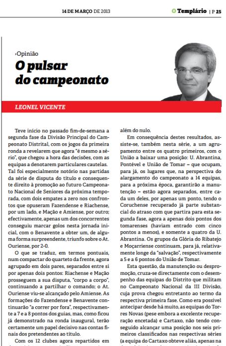 Templario - 14-03-2013