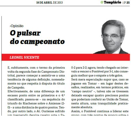 Templario - 18-04-2013
