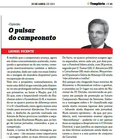 Templario - 25-04-2013