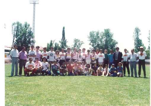 Equipa do UTomar em 1988